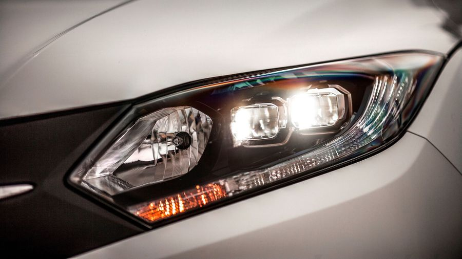 2015 Honda HR-V 1.6 i-DTEC lights