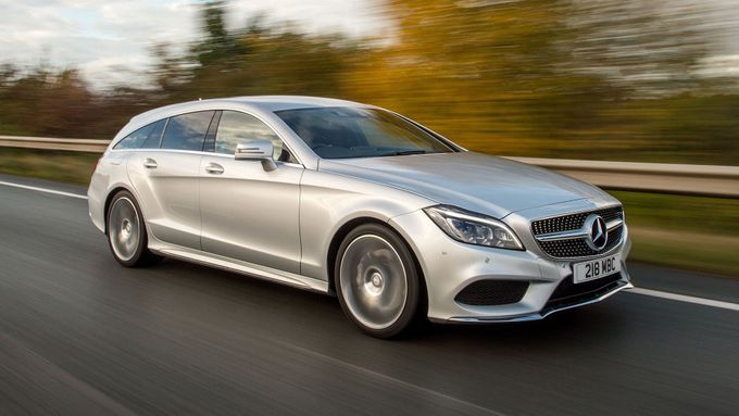 Mercedes CLS Shooting Brake refinement