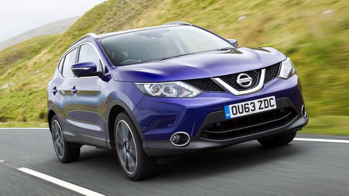 Nissan Qashqai on-road front