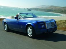 Rolls-Royce Phantom Drophead Coupe convertible