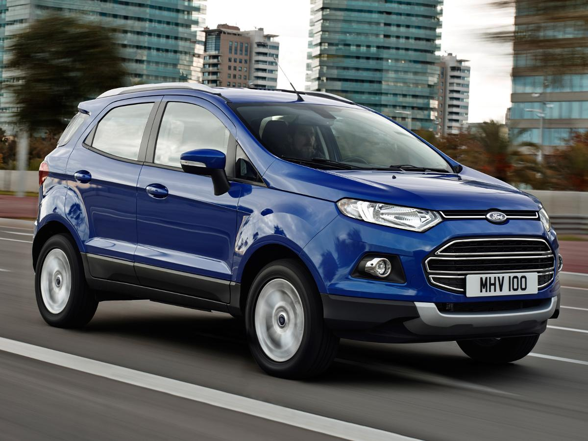 Used ford ecosport cars for sale on auto trader uk