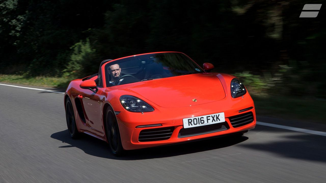 2016 Porsche 718 Boxster performance