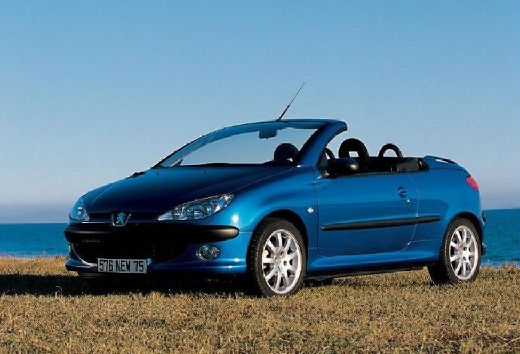 used peugeot 206 cc cars for sale on auto trader uk. Black Bedroom Furniture Sets. Home Design Ideas