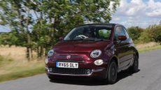 2015 Fiat 500 ride