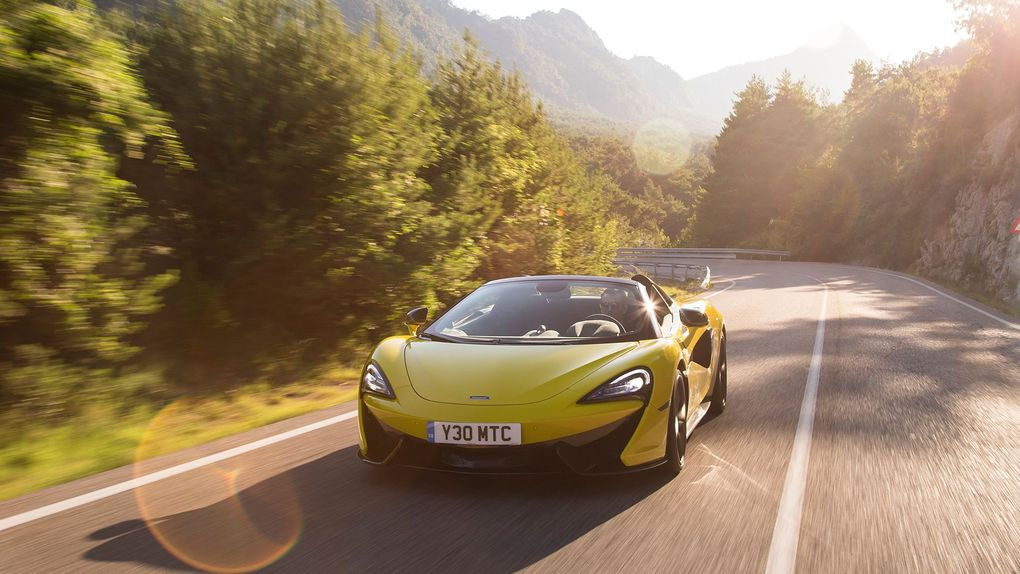 McLaren 570S Spider (2017 - ) review