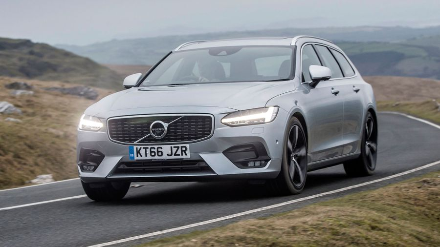 2016 Volvo V90 ride and handling