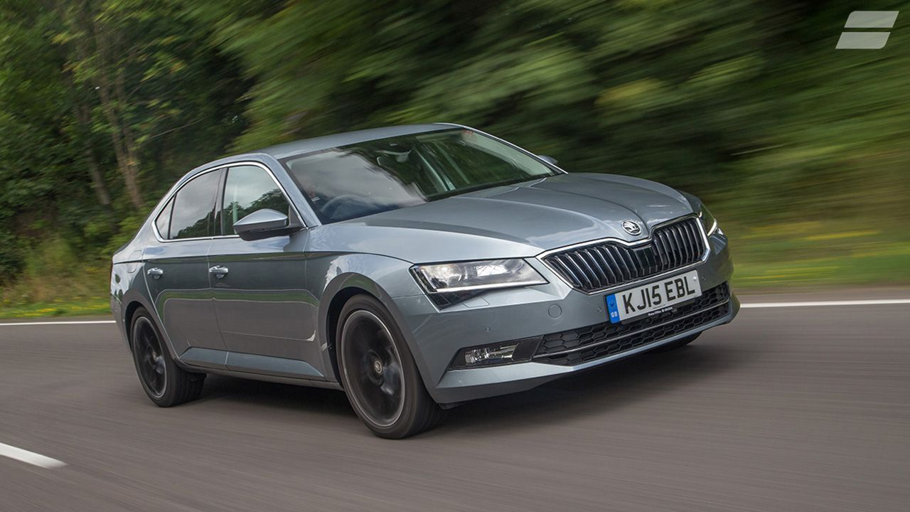 2015 Skoda Superb 2.0 TDI 150 front action