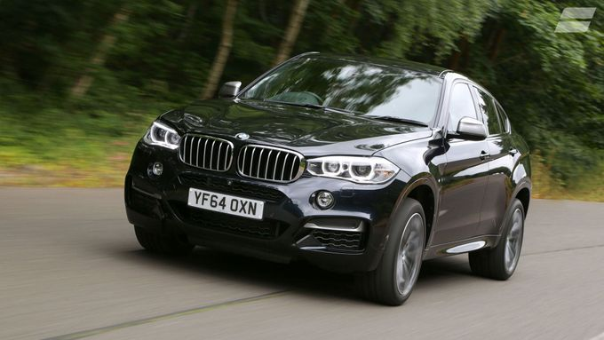 BMW X6 refinement