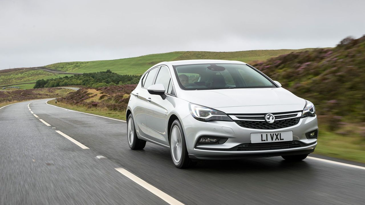 2015 Vauxhall Astra ride