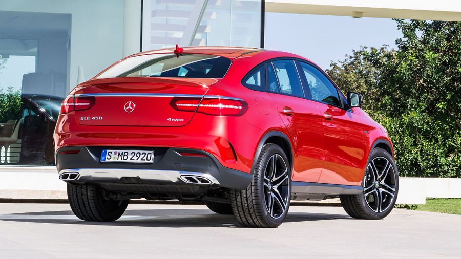 Mercedes GLE Coupe exterior