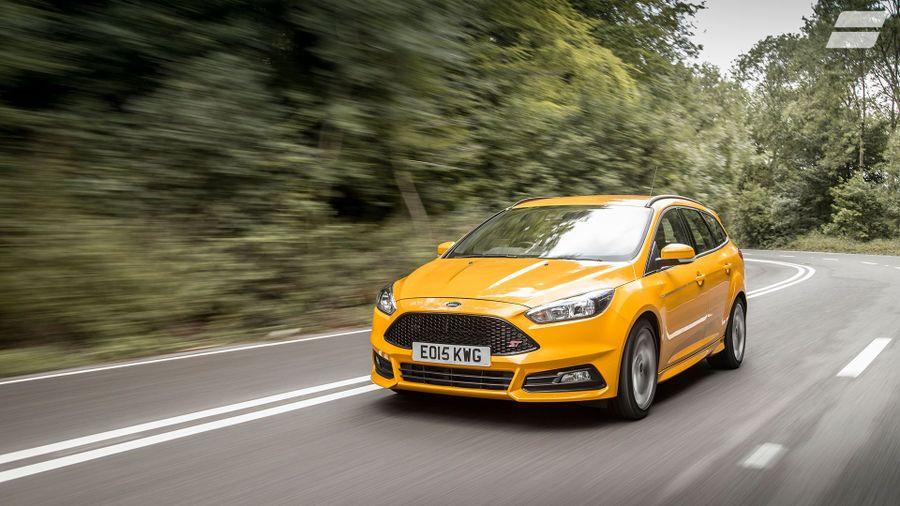 Ford Focus Estate ride