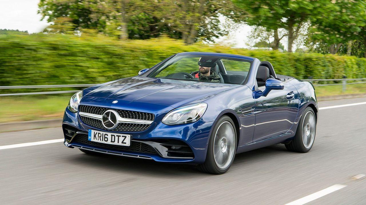Mercedes-Benz SLC Convertible (2016 - ) review | Auto ...