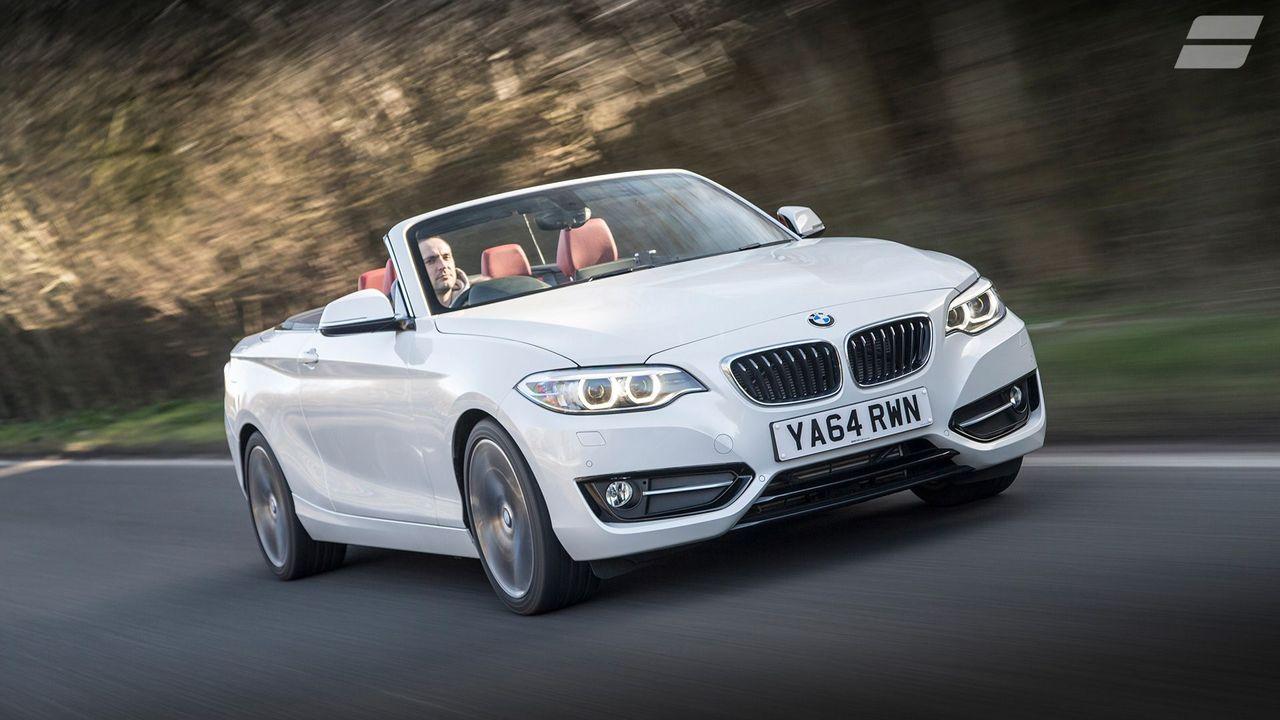 BMW 2 Series Convertible ride