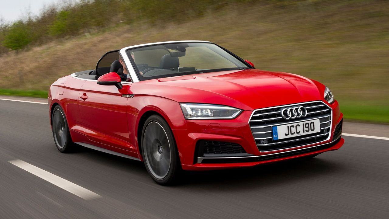 Audi A5 Cabriolet convertible (2016 - ) review | Auto ...