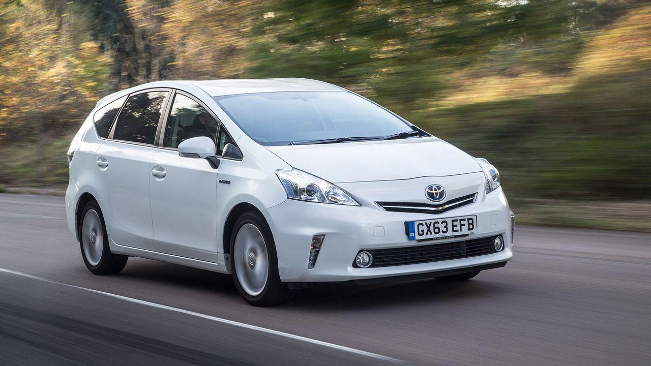 Toyota Prius+ on-road