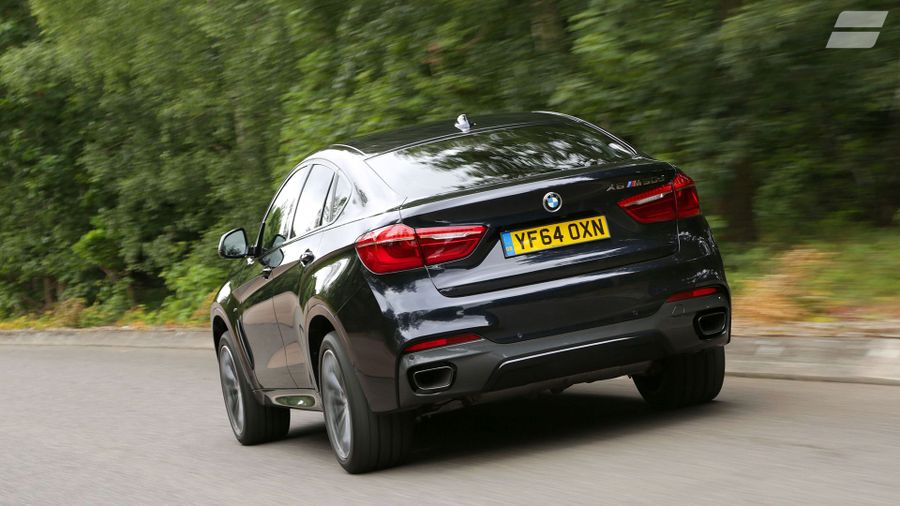 BMW X6 ride and handling
