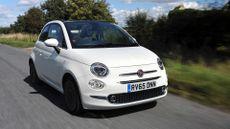 2015 Fiat 500C ride