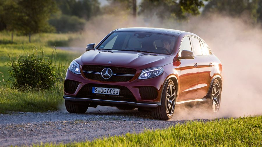 Mercedes GLE Coupe performance