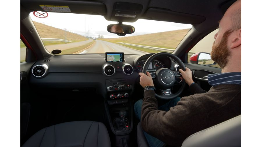 2015 Audi A1 S line driving