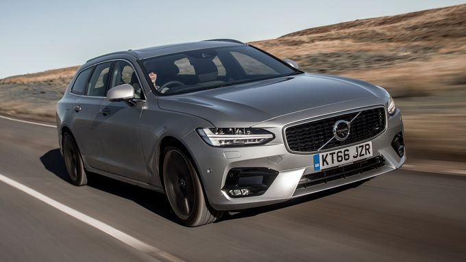2016 Volvo V90 on-road