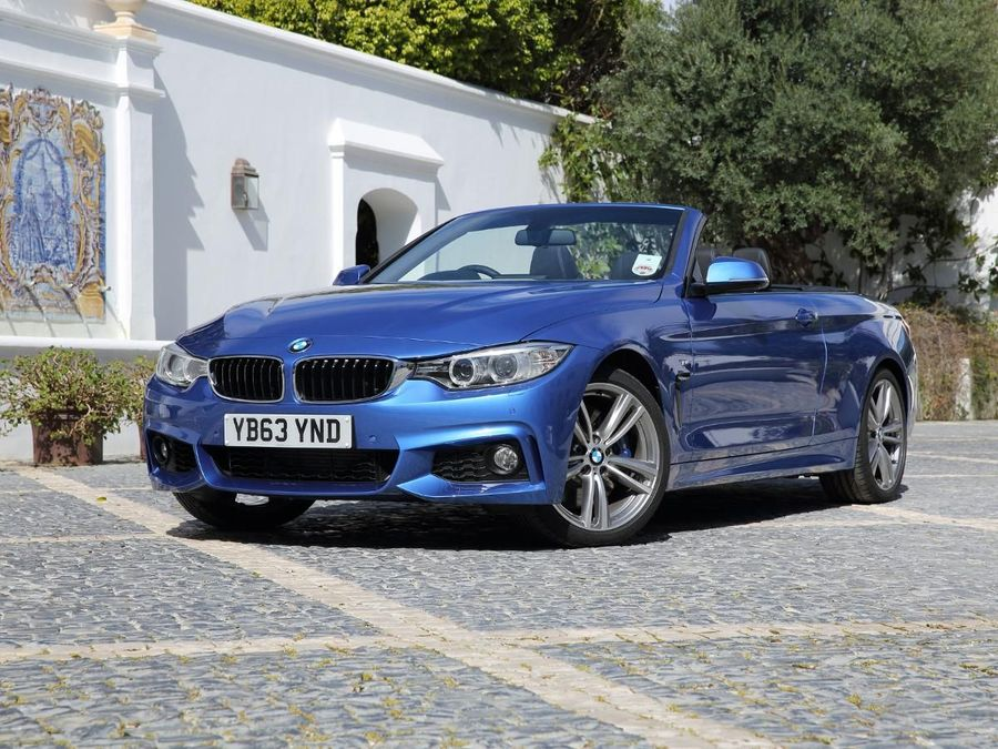 BMW Series Convertible Review Auto Trader UK - 2013 bmw 4 series convertible