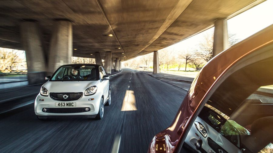 Smart fortwo Coupe (2015 - ) front tracking