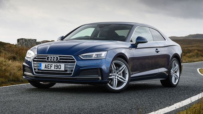 new audi a5 coupe review deals auto trader uk. Black Bedroom Furniture Sets. Home Design Ideas