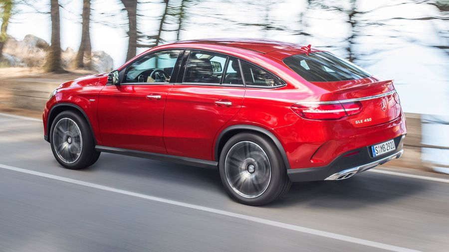 Mercedes GLE Coupe handling