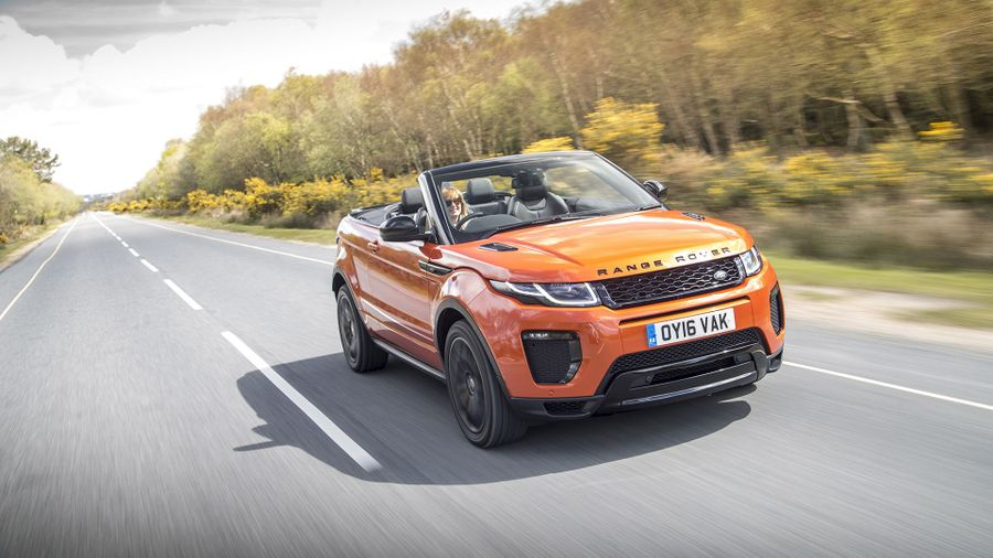 land rover range rover evoque convertible 2015 review auto trader uk. Black Bedroom Furniture Sets. Home Design Ideas