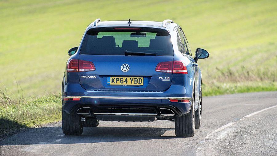 Volkswagen Touareg safety