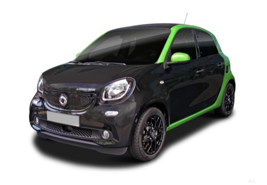 used black smart forfour cars for sale on auto trader uk. Black Bedroom Furniture Sets. Home Design Ideas