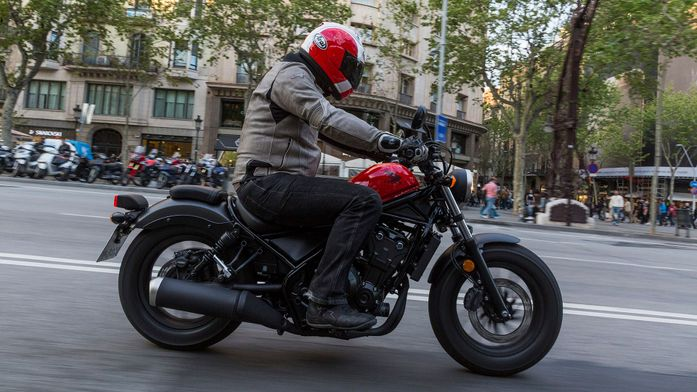 Honda CMX500 Rebel Custom Cruiser (2017 - ) review