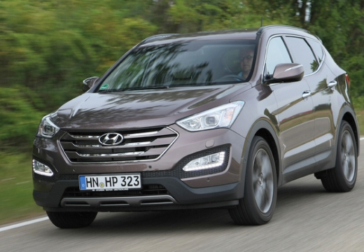 used hyundai santa fe cars for sale on auto trader uk. Black Bedroom Furniture Sets. Home Design Ideas