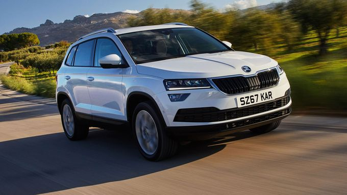 new skoda karoq review deals auto trader uk. Black Bedroom Furniture Sets. Home Design Ideas