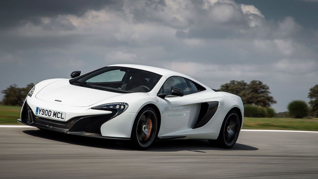 2014 McLaren 650 Coupe ride