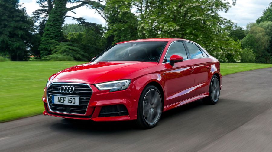 2016 Audi A3 Saloon front action