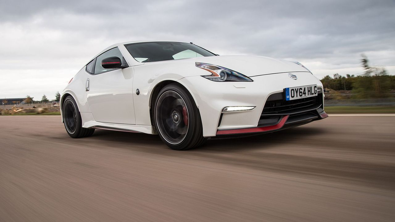 2014 Nissan 370Z Nismo front track