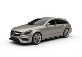 Mercedes-Benz CLS Estate 2012 on